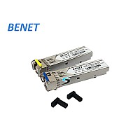 SFP 1.25G SM BENET / 1310-1550 / LC / WDM / 10KM
