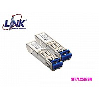 SFP MODULE SINGLE MODE LINK 1.25G LC 10KM 1310-DX