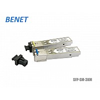 SFP MODULE SINGLE MODE 1.25G SC 3KM WDM