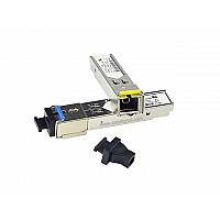 SFP MODULE SINGLE MODE 1.25G SC 20KM WDM