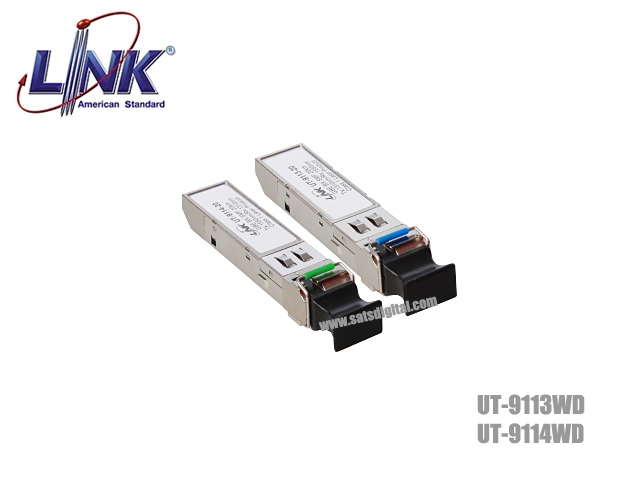 SFP MODULE LINK SINGLE MODE 1.25G LC 20KM WDM