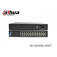 GIGABIT SWITCH 24 PORT DAHUA รุ่น DH-S3000C-24GT