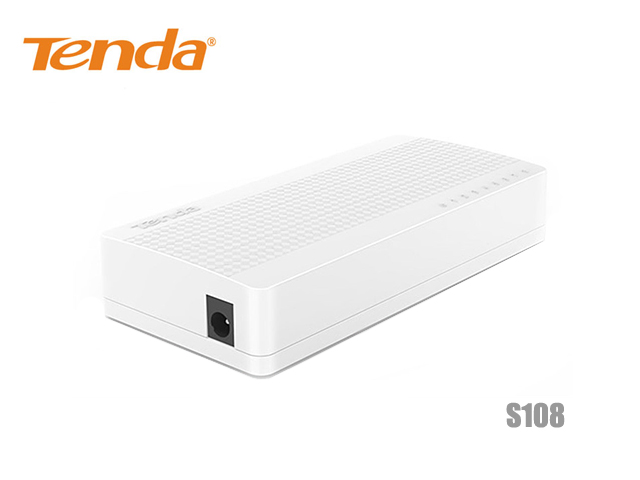 SWITCH HUB TENDA 8 PORT 10/100 Mbps รุ่น S108
